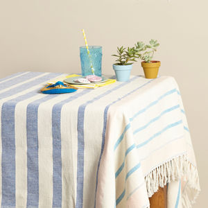 Large Mexican Blanket Tablecloth - tableware