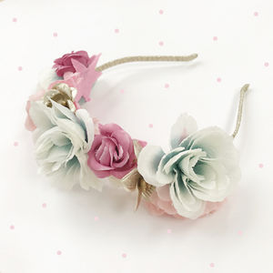 Forest Flower Crown - flower girl gifts