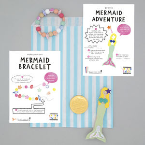 Mermaid Party Bag - wedding day activities
