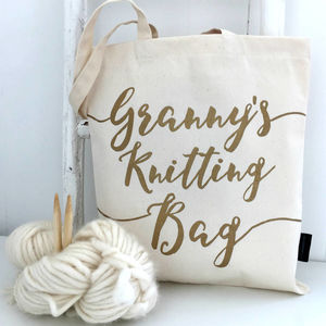 'Granny's Knitting Bag' - gifts for grandmothers