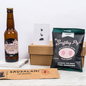 Pig And Beer Box - wines, beers & spirits