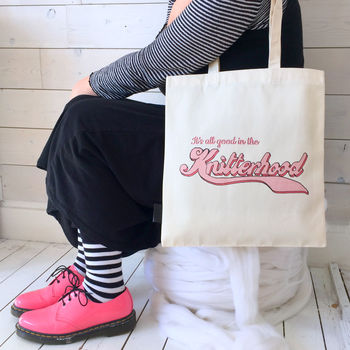 'Knitterhood' Knitting Project Bag