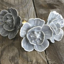 Ceramic Rose Drawer Knob