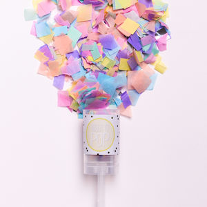 'About To Pop' Confetti Pop - baby shower gifts & ideas