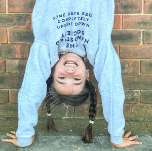 Handstand Sweatshirt For Children And Adults