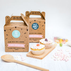 Flower Cupcake Bake Kit Party Bag