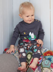 Baby And Toddler Forest Friends Leggings