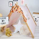 Pink A Frame Playhouse Tent