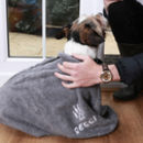 Personalised Towelling Dog Bag