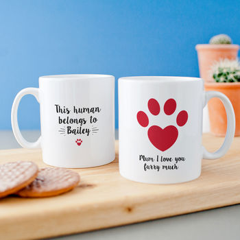 Personalised 'Pet Mum' Animal Lover Mug