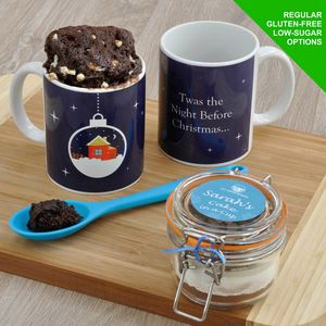 Christmas Eve Box Chocolate Mug Cake Kit - kitchen