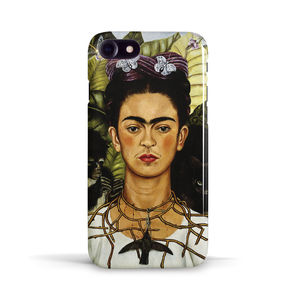 Frida Kahlo Case 'Self-Portrait Necklace Hummingbird'