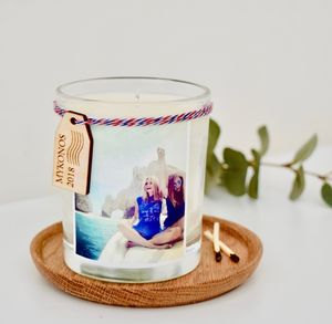 Destination Photo Candle - home accessories