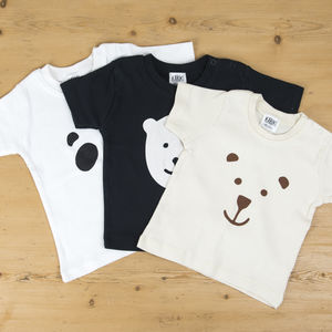 Baby Bear Three T Shirt Set - gifts for children
