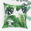 Botanical Leaves Tropical Cushions