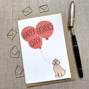 Father's Day Cockapoo Card