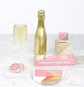 Prosecco Themed Treat Gift Box