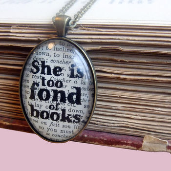 TOO_FOND_OF_BOOKS_LITTLE_WOMEN_LITERARY_JEWELLERY_SILVER_PLATED