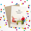 Gin Greeting Card