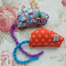 Catnip Cat Mouse Toy