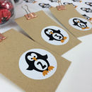 Penguin Advent Stickers Or Penguin Advent Craft Kit