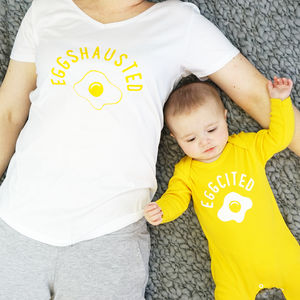 Egghausted Pyjama Set - babies' nightwear