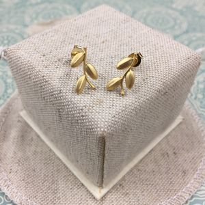 Willow Leaf Earrings - earrings
