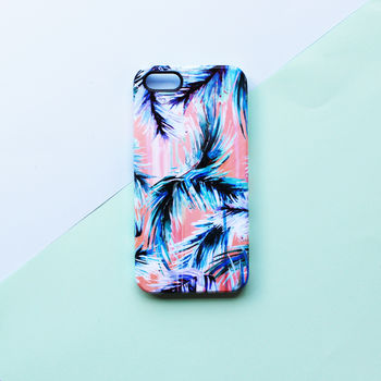 Pink Tropicana Phone Case