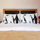 Penguin Dream Set Of Two Pillowcases