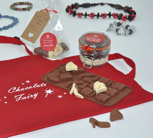 Lady's Fashion Personalised Chocolate Making Kit - kitchen accessories