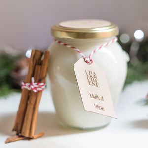 Mulled Wine 50 Hour Burning Time Christmas Jar Candle