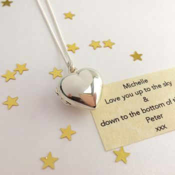 Sterling Silver Message Locket