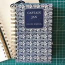 'Captain Jan' Upcycled Notebook
