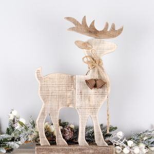 Driftwood Stag Festive Ornament