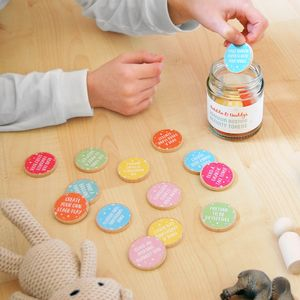 Personalised Daddy And Me Activity Tokens Jar - gifts under £25