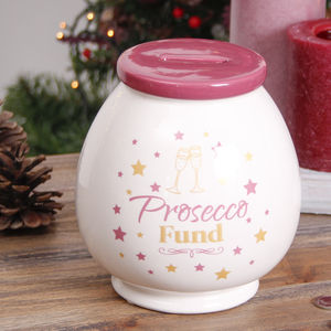 Prosecco Money Pot With Gift Bag