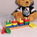 Personalised Wooden Shape Sorter Toy For Kids