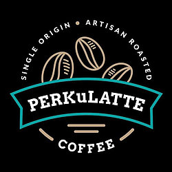 Perkulatte Coffee Logo