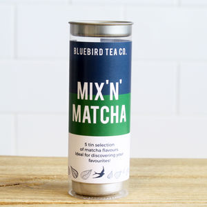 Mix 'N' Matcha Tin Tube - teas, coffees & infusions