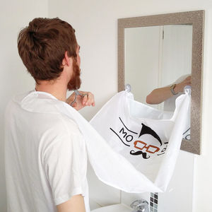 Mo Bro's Beard Bib Shaving And Grooming Hair Catcher