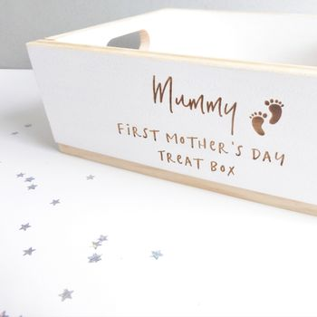 First Mother's Day Personalised Treat Box