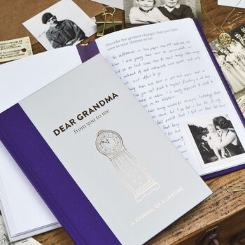 Timeless Collection 'Dear Grandma' Memory Journal
