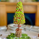 Edible Malteser Christmas Tree With Green Drizzle