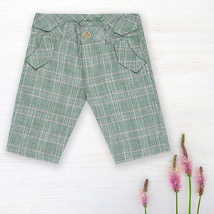 Tartan Shorts For Boys - clothing