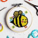 Bella Bee Mini Cross Stitch Kit