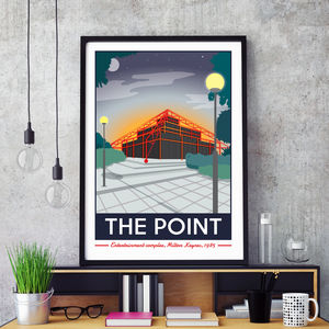 The Point, Milton Keynes Print - view all sale items