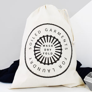 Home And Travel Laundry Bag, Soiled Garments