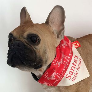 Christmas Design Dog Bandana Neckerchief - dogs