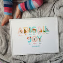A To Z Of Emotions Personalised Children's Name Print