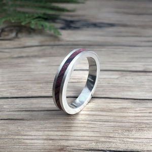 Wood Ring Native - wedding rings